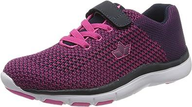 Lico Famos Vs, Zapatillas de Marcha Nórdica para Mujer, Azul Marine/Pink, 41 EU: Amazon.es: Zapatos y complementos
