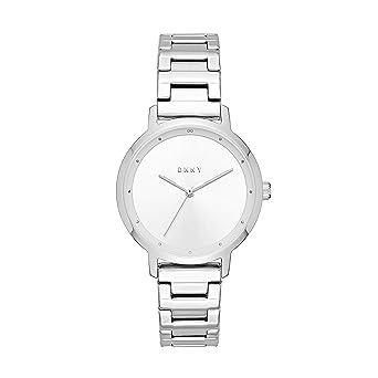 DKNY Reloj Analogico para Mujer de Cuarzo con Correa en Acero Inoxidable NY2635: Amazon.es: Relojes