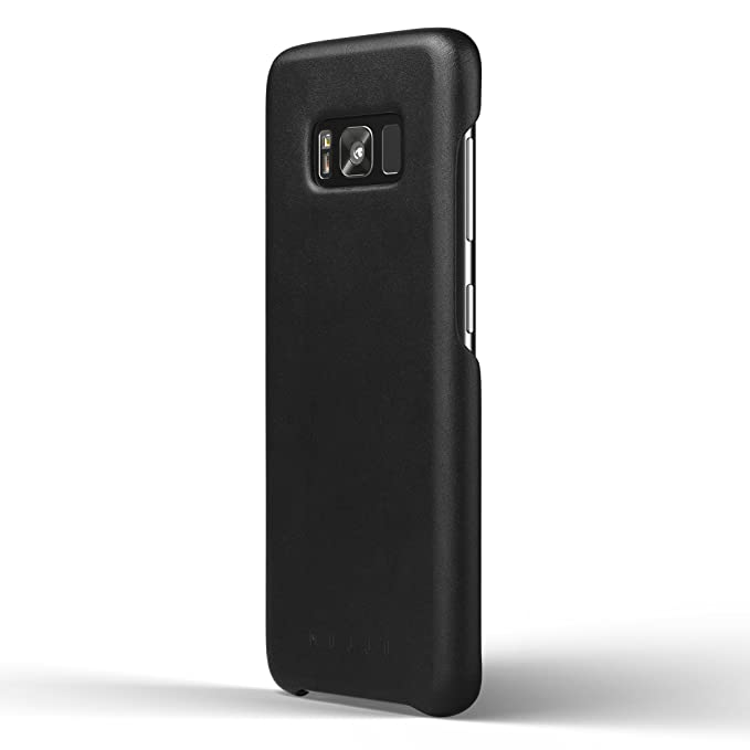 the latest 66b31 decd5 Amazon.com: Mujjo Full Leather Case compatible with Samsung Galaxy ...