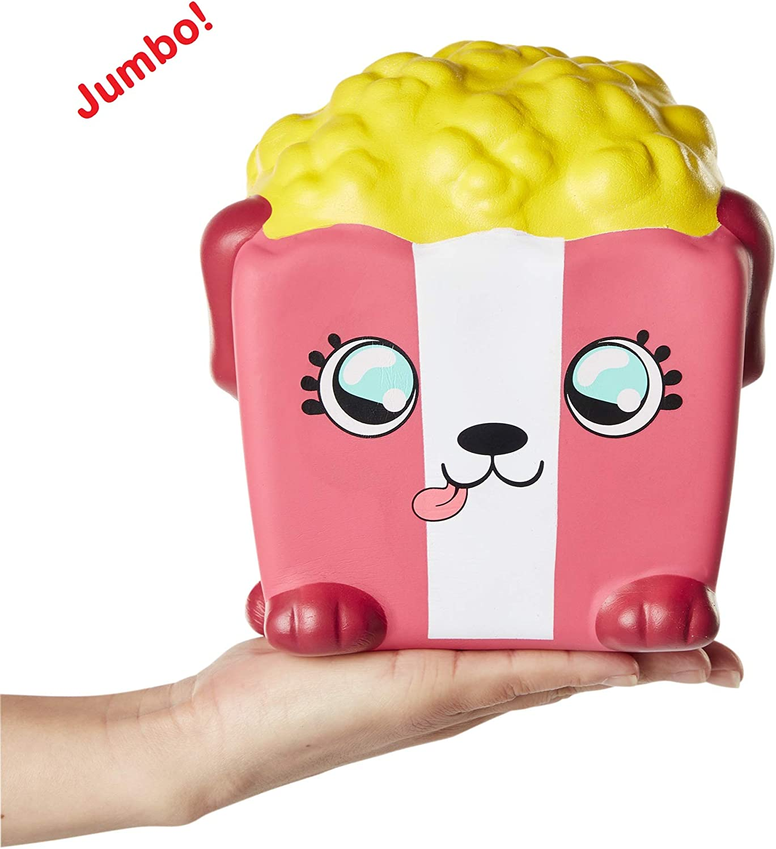 Soft Kids Squishy Toys 86715 Squishies Squish-Dee-Lish Squishy Jumbo Toy Slow Rising Pup-Corn