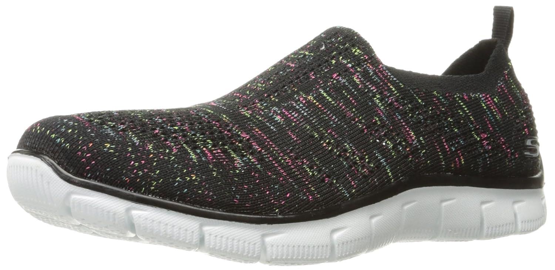 Skechers Sport Women's Empire Inside Look Fashion Sneaker B01LYQNAD7 11 B(M) US|Black/Multi