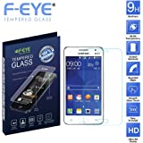 F-EYE® Samsung Galaxy Grand Prime 4G Tempered Glass ,2.5D Round Edge - 0.33mm Thickness Mobile Screen Protector