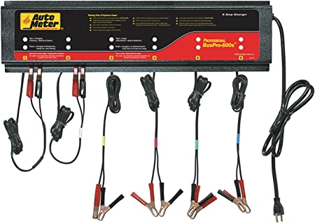 115Vac Auto Meter BUSPRO-600s Multi Battery Charging Station