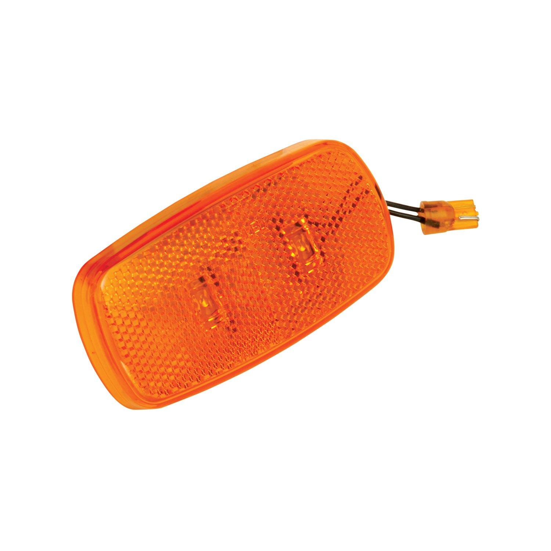 Bargman 42-59-412 Clearance//Side Marker Light LED Lens Upgrade Module - Amber