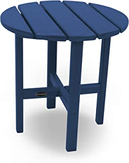 "product image for POLYWOOD Round 18"" Side Table in Navy"