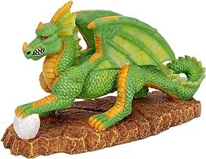 Pennplax Green Dragon Aquarium Resin Ornament, Medium