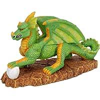 Pennplax Green Dragon Aquarium Resin Ornament Medium