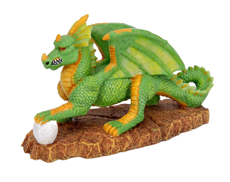 Dragon fish tank ornament - Amazon Com Pennplax Green Dragon Aquarium Resin Ornament Mini Aquarium Decor Ornaments Pet Supplies