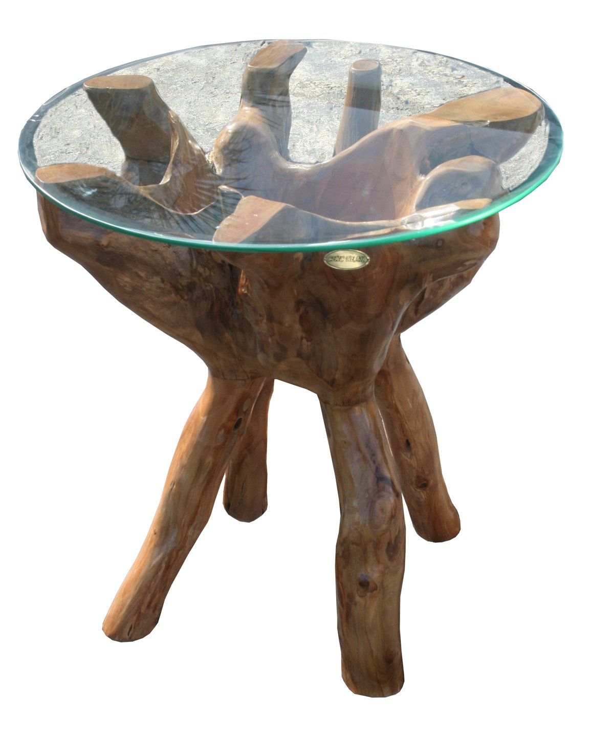 Teak Root Side Table Made By Chic Teak