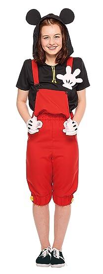 Disneyu0027s Mickey Mouse Costume -- Casual Mickey -- Teen/Womenu0027s ...  sc 1 st  Amazon.com & Amazon.com: Disneyu0027s Mickey Mouse Costume -- Casual Mickey -- Teen ...