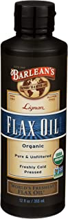 product image for Barleans, Flax Oil High Lignan Organic, 12 Fl Oz