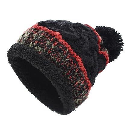YOPINDO Sombreros de Punto para Las Mujeres Girls Beanie Hat Lana ...