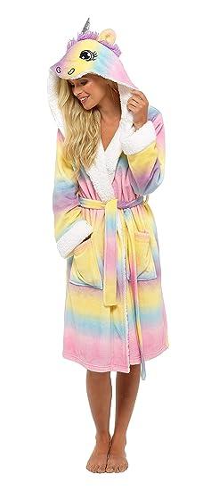 Foxbury Robe de Chambre à Licorne Multicolore pour Femme