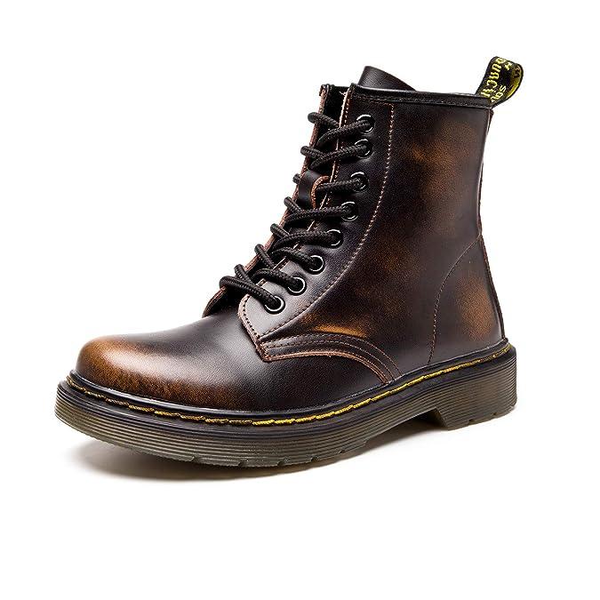 9116dba0cd1f4c SITAILE Unisex-Erwachsene Bootsschuhe Derby Schnürhalbschuhe Kurzschaft  Stiefel Winter Boots für Herren Damen  Amazon.de  Schuhe   Handtaschen