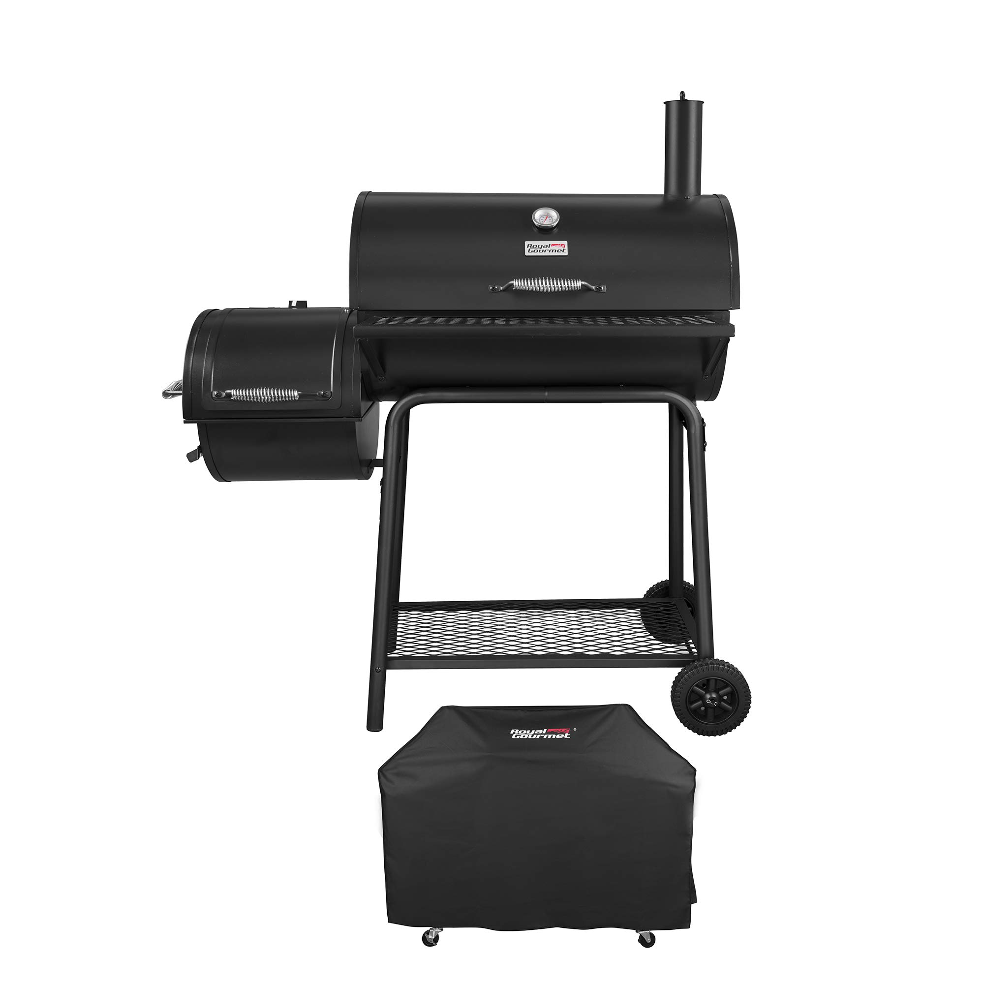 Royal Gourmet Charcoal Grill Offset Smoker (Grill + Cover) by Royal Gourmet