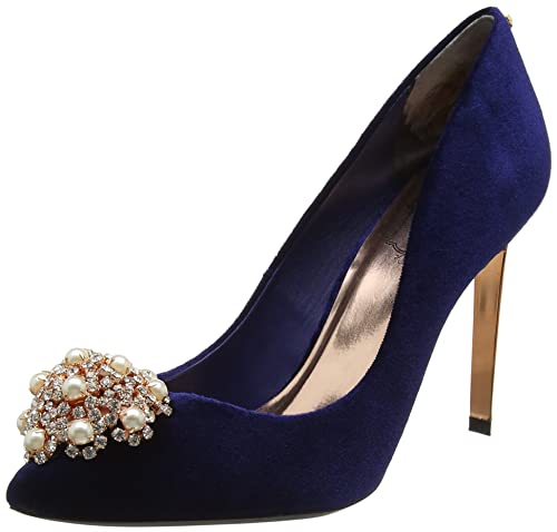 Zapato boda azul 💎 3