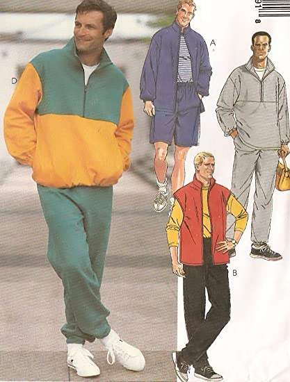 5f305042fbe83 Image Unavailable. Image not available for. Color  McCalls Sewing Pattern  8579 Mens Casual Fleece Jacket