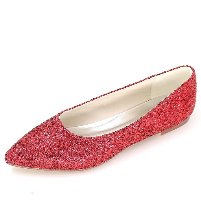 De Zapatos La Las Elobaby Boda Tarde Mujeres Bombas 1Zqfqx5wB