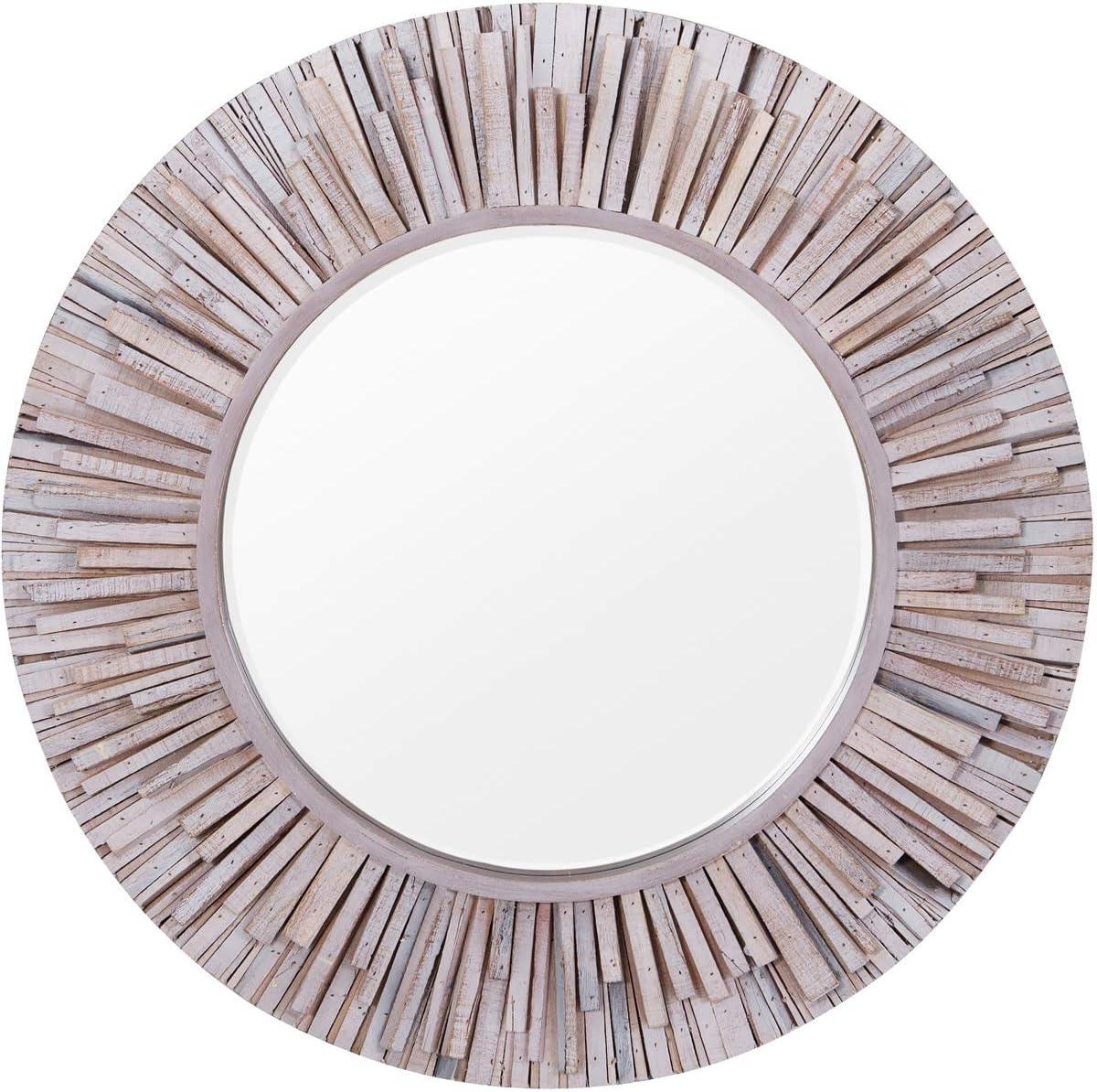 Varaluz Casa Nellie Wall Mirror, Coastal Wash