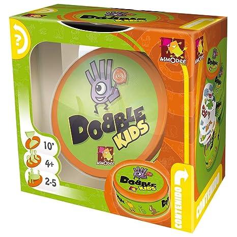 Dobble Kids - Juego de tablero (Asmodee DOKI01ES)