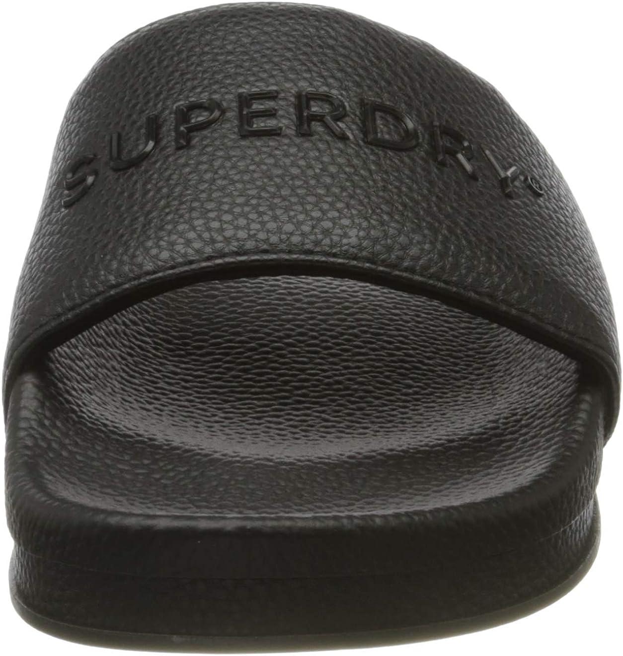 Superdry Arizona High Build Flatform Slide Zapatos de Playa y Piscina para Mujer