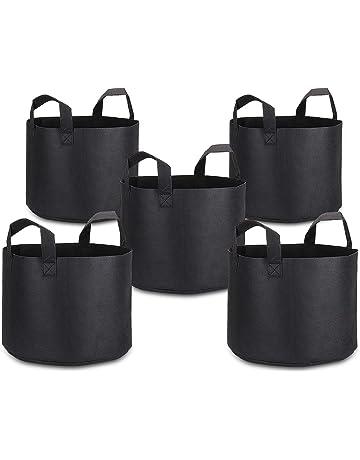 Bolsa de Cultivo de Plantas 3-Gallon, PEYOU (5 piezas) Macetas de