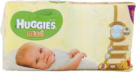 1 Pacco da 24 Pezzi 3-6 kg Huggies Beb/è Pannolini Taglia 2