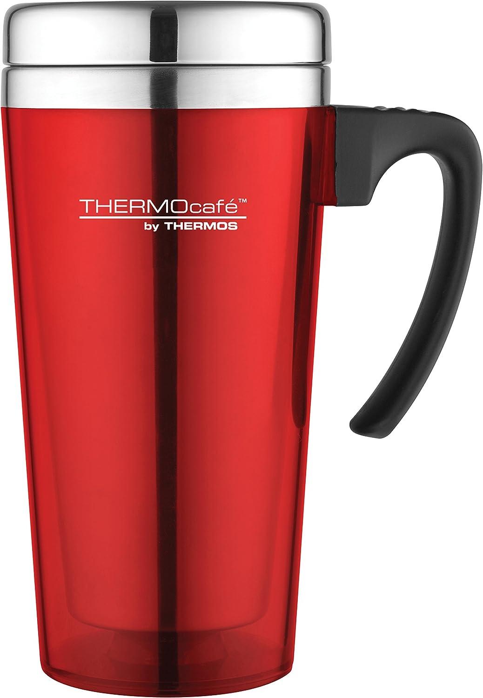 THERMOS THERMOCAFE 2010 TRAVEL CAR BEAKER CUP MUG 0.4L