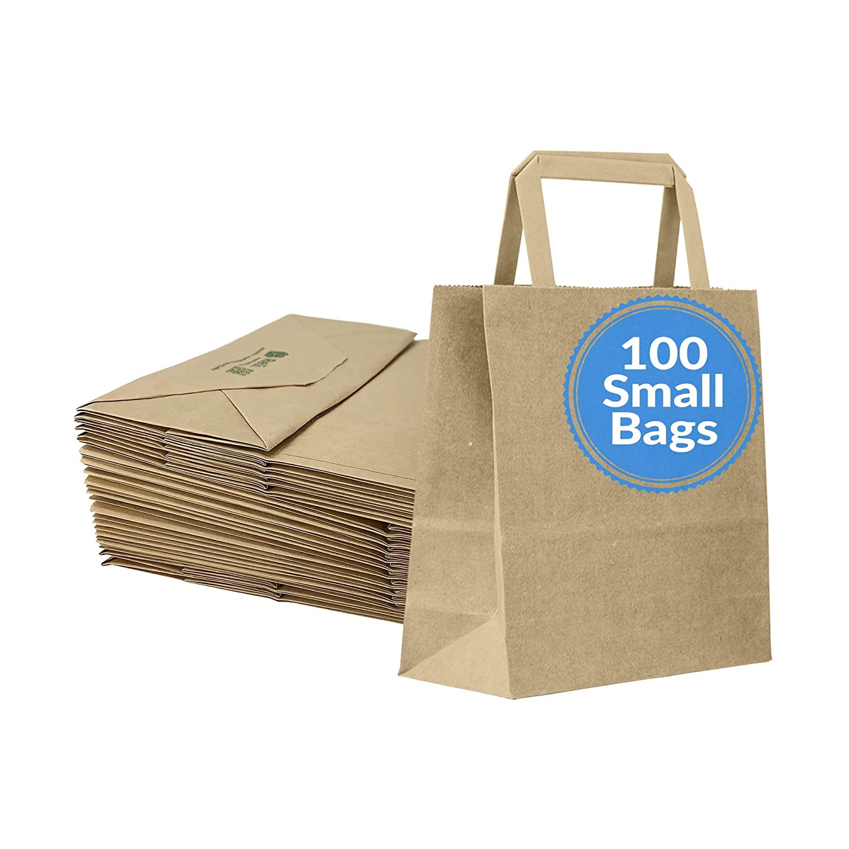 Reli. Paper Gift Bags | 100 Pcs Bulk | Small - 7