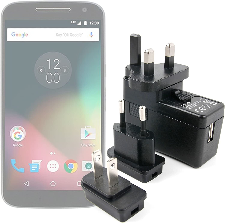 DURAGADGET Kit De Adaptadores con Cargador para Smartphone Lenovo Moto G4 / G4 Plus / G4 Play: Amazon.es: Electrónica