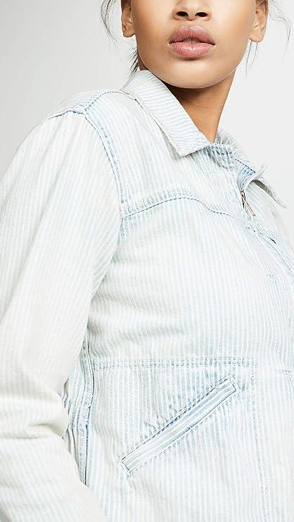 Amazon.com: NSF Mika Denim - Chaqueta para mujer, Petite ...