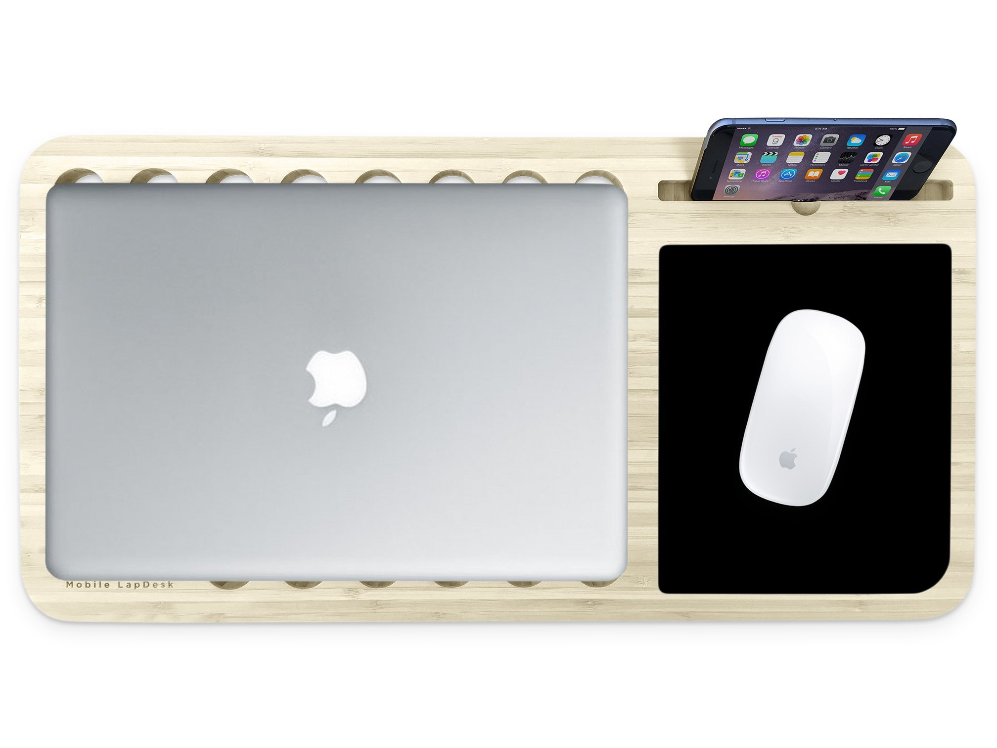 Slate 2.0 Mobile LapDesk : Essential Laptop Accessory for Students, Professionals, Designers, and Gamers : Built in the USA by iSkelter