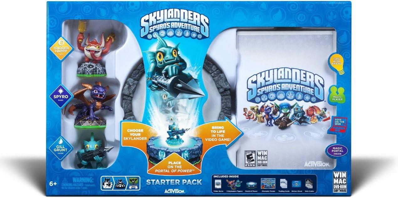 Amazon com: Skylanders Spyro's Adventure Starter Pack - PC