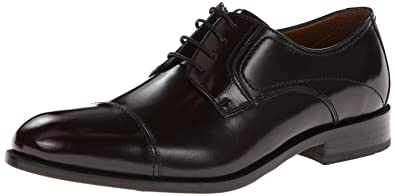 100% credibility Bostonian Men's Calhoun Walk Mens Black Leather Bostonian Mens Lace Ups