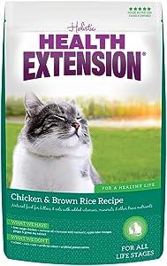 Health Extension Chicken & Brown Rice Dry Kitten & Adult Cat Recipe