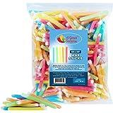 Nik L Nip Wax Sticks - Bulk Candy - Candy Drinks - 3 Pounds