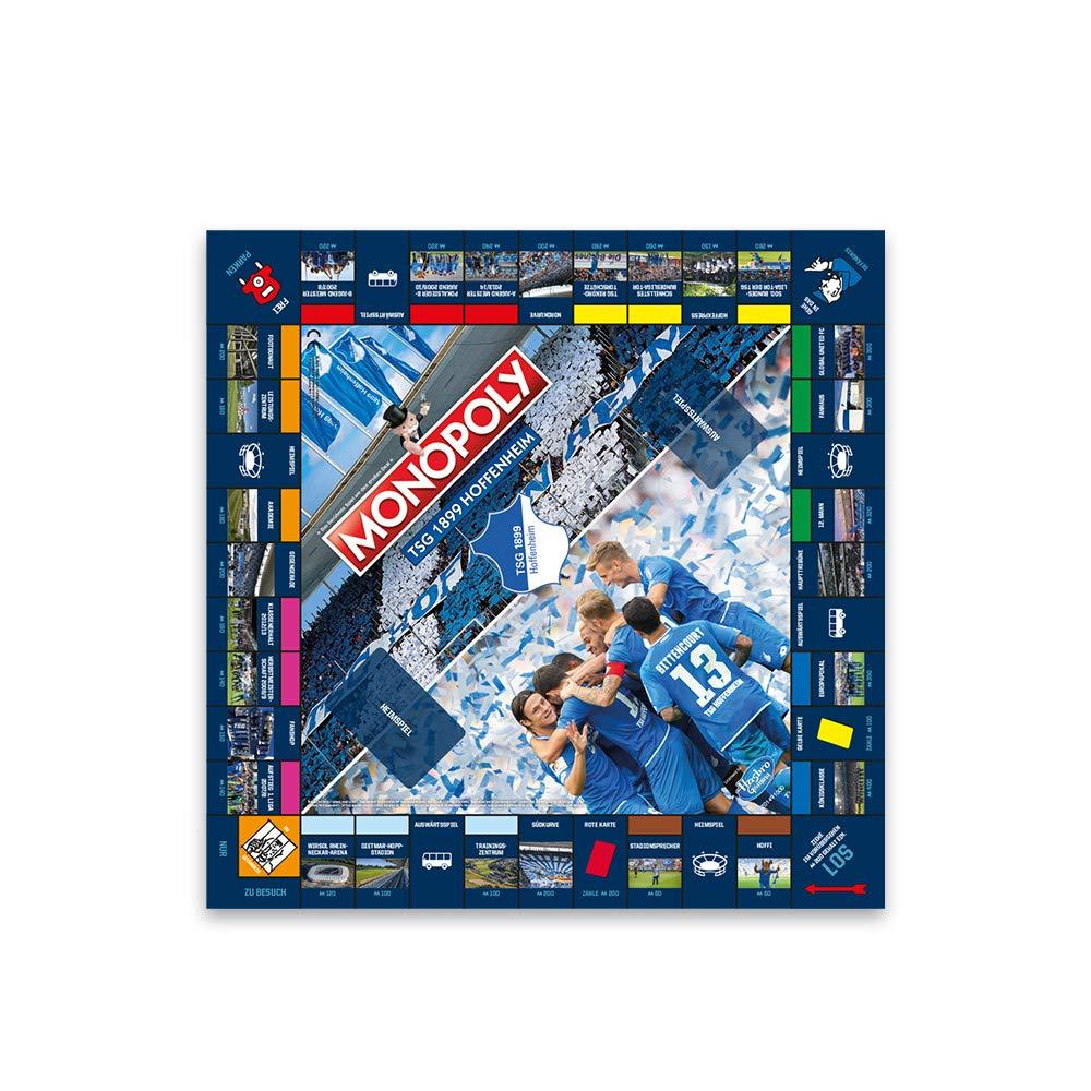 TSG 1899 Hoffenheim Unisex/ 40 x 26,5 x 5,5 cm Erwachsene TSG Monopoly