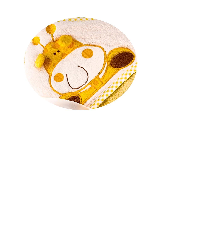 Bobobaby Bebé Toalla de Baño con Capucha Microfibra (Giraffe): Amazon.es: Bebé