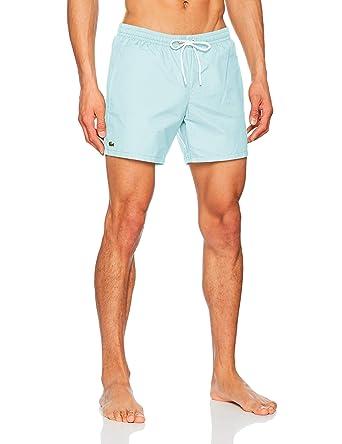 9476b9036d45 Lacoste Men s Swim Shorts  Amazon.co.uk  Clothing