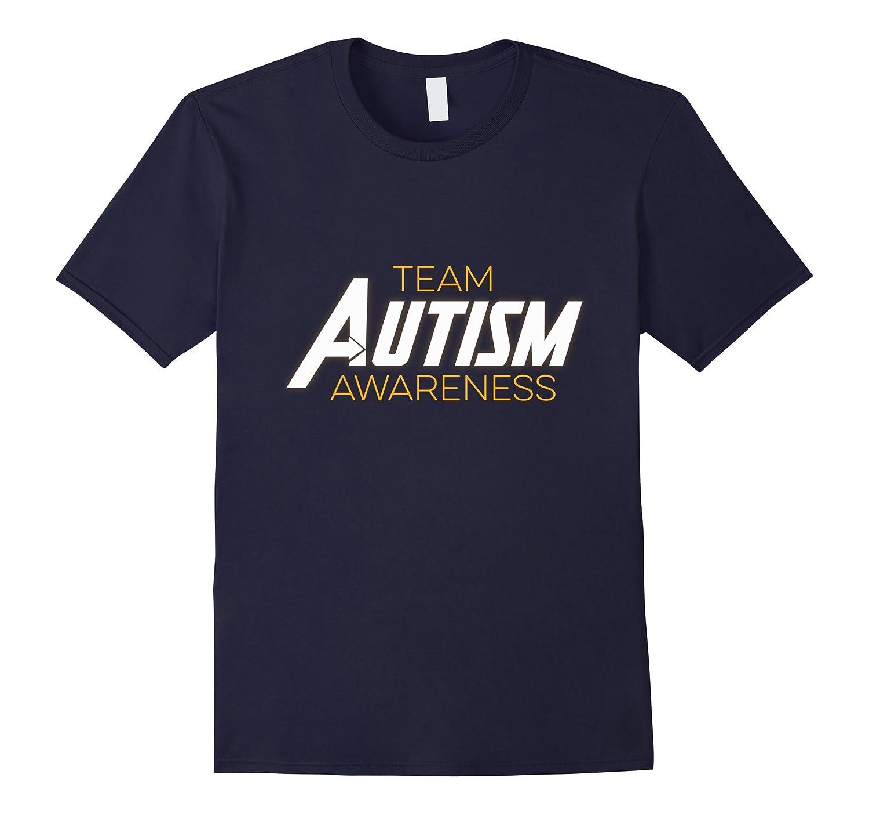 Team Autism Awareness Tee - ASD Cool Superhero T-Shirt-CD