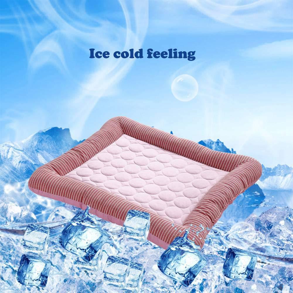 Almohadilla de gel de refrigeración para mascotas Volwco ...