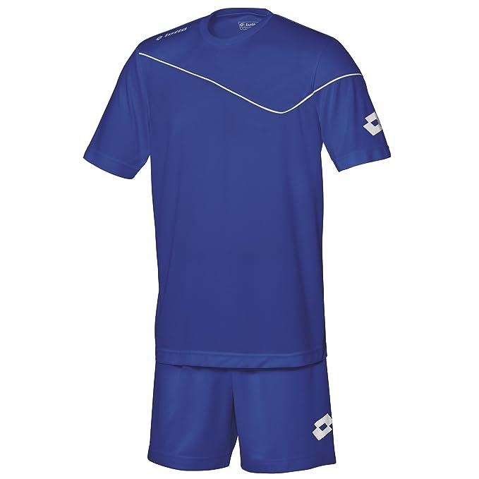 Lotto - Equipacíon/Conjuto camiseta de manga corta-pantalón de futbol para hombre (