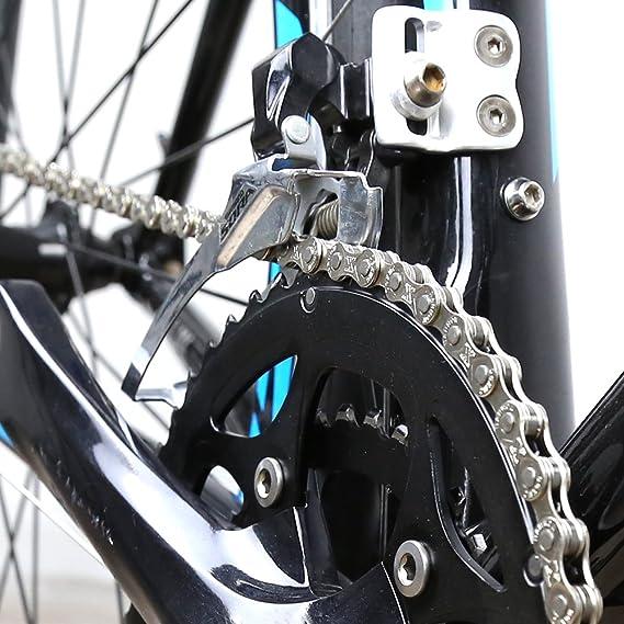 ZONKIE Cadena de Bicicleta de 9 velocidades,116 eslabones: Amazon ...