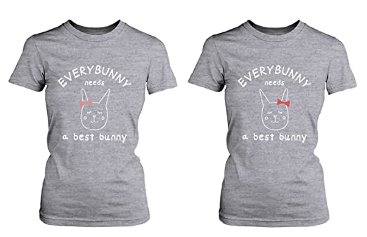 365 Printing Cute Best Friend T Shirts - Everybunny Needs a Best ...