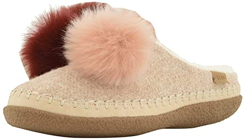 d95664bea3c TOMS Ivy Rose Multi Felt Pom Pom Womens Slippers Shoes  Amazon.co.uk ...