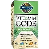 Código de la vitamina, crudo del complejo B, 60 Caps Vegan - Jardín de la Vida