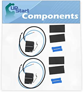 2-Pack 5303918214 Defrost Thermostat Replacement for White Westinghouse WRS6W1EW0 Refrigerator - Compatible with 5303918214 Defrost Thermostat Kit - UpStart Components Brand