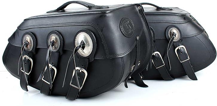 2 Stücke Motorrad Leder Satteltaschen Packtaschen Gepäcktaschen