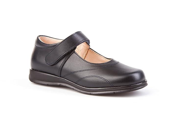 Merceditas COLEGIALES pour filles tout cuir, Mod. 461. Chaussure Enfant  Made in Spain, garantie de qualité. - noir - bleu marine, 41 EU  Amazon.fr   ... 289569585cd5