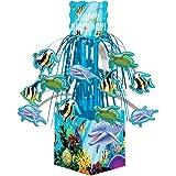 Creative Converting Ocean Party Cascading Centerpiece Decoration, Mini